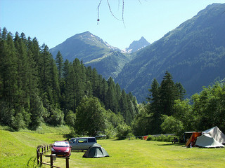 Camping ground in Kippel
